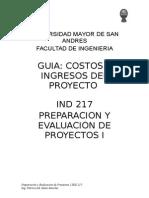 COSTOS E INGRESOS DEL PROYECTO.doc