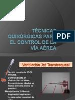 TECNICAS QX PARA EL MANEJO DE LA VIA AEREA.pptx