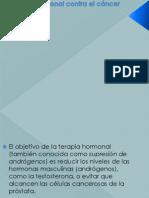 Terapia Hormonal Contra El Cáncer de Próstata2014