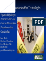 Decon 20 Emerging Decontamination Technologies
