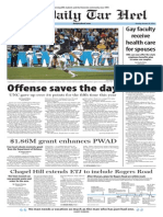 The Daily Tar Heel for Oct. 20, 2014