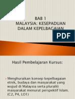 1_Malaysia Kesepaduan Dalam Kepelbagaian