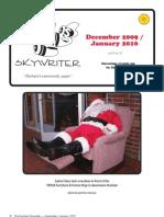 Durham Skywriter December 2009/January 2010