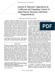 Effect of Dimension & Material Composition on Transmission Coefficient and Tunneling Current of Double Quantum Barrier Structure with Band Nonparabolicity