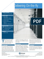 Thinking, Delivering On-the-fly - Data Center Mechanical Installation
