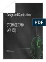 Tank Design and Construction
