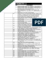 Chemistry 11 - Lessons 96-130