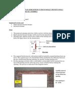 Method Statement for Demolition of Brick Concrete Walls at c01 for Door Window Opening