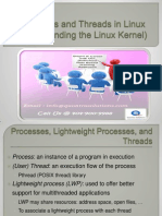 Process and Threads - Linux PPT