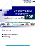 CSharp Application Domains and Remoting