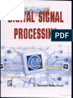Digital Signal Processing by Ramesh Babu c Durai