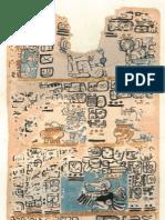 Mayan Codex - Madrid Codex 2 of 6