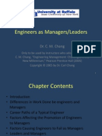 11 - Engineers as Managers & Leaders.ppt