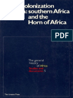 African Decolonization-South & Horn UNESCO 1978
