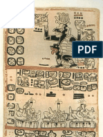 Mayan Codex - Madrid Codex 4 of 6