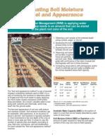 Estimating Soil Moisture