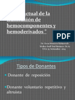 Transf. Hemocomp. y Hemod.