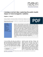 Fielding a Current Idea Exploring the Public Health Impact of Electromagnetic Radiation