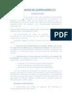 CREACIÓN DE FORMULARIOS