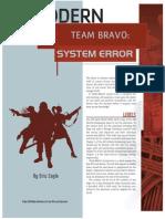 Team Bravo System Error