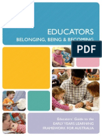 Educators Guide to the Early Years Learning Framework for Australia