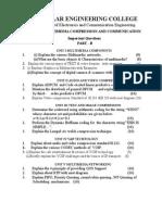 EC2037 – MULTIMEDIA COMPRESSION AND COMMUNICATION