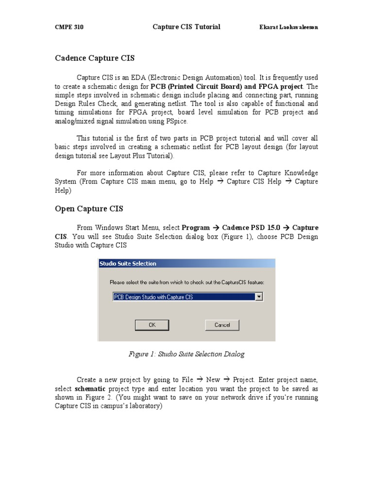 Capture Cispdf Electronic Engineering Digital Electronics Eda Design Automation Group