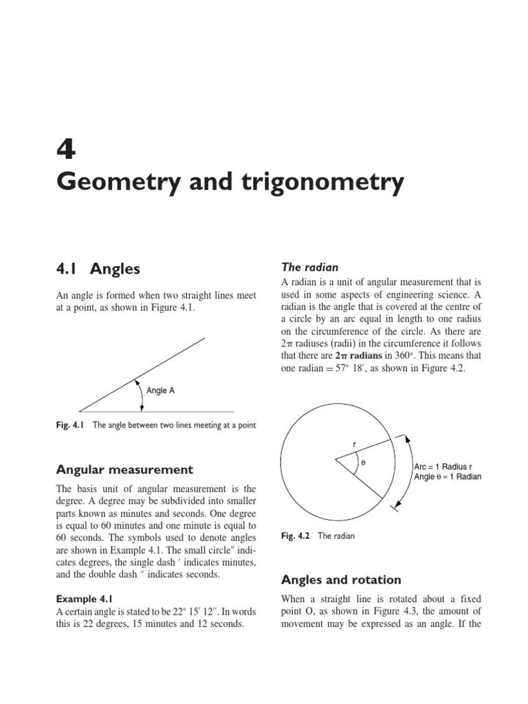 Geometry And Trigonometry Trigonometric Functions Sine