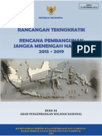 Draft Rancangan Teknokratik Rencana Pembangunan Jangka Menengah Nasional 2015-2019 Buku III Arah Pengembangan Wilayah Nasional