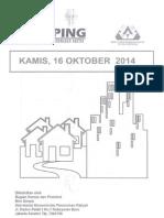 Kliping  Berita Perumahan Rakyat, 16 Oktober 2014