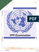 UN YPP - Answer Booklet
