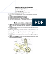 Suspension System Fundamentals