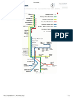 Israel Trains Route Map