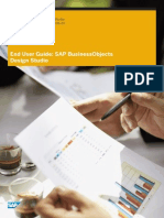 0302 SAP BusinessObjects Design Studio and Dashboards Roadmap