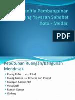 Panitia Pembangunan Gedung Yayasan Sahabat Kota - Medan