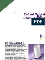 Calciu Natural, Calciu Sintetic