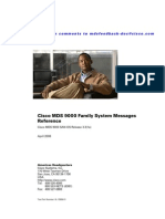 Cisco SysMsgs