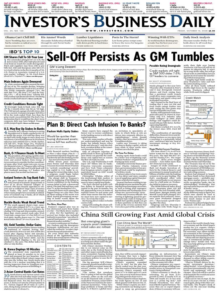 eIBD101008 | Gulag | Financial Crisis Of 2007–2008