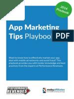 App Marketing Tips Playbook