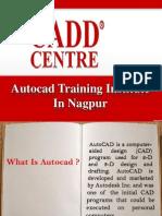 Autocad Training Institute in Nagpur