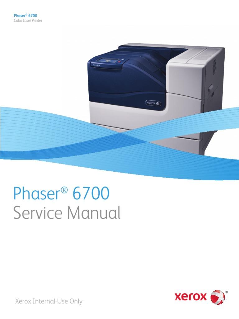 phaser 6700 service manual pdf computer hardware media technology rh scribd com Xerox Phaser 3635MFP Jam Rear Xerox 3635 Tray