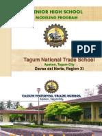 Tagum National Trade School Development Program