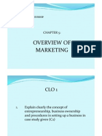 5- Overview of Marketing