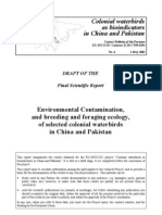 Colonial Waterbirds as Bioindicators- EU-Funded Project, Pakistan & China -Final Report