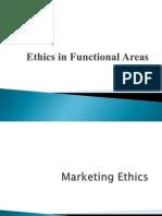 Unit II - Ethics in Functional Areas