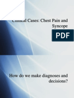 Clinical Cases- Chest Pain