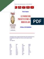 Italian language - Presente Indicativo Irregolare