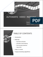 Automatic Video Indexing