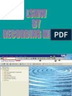 LSMW by Recording Method