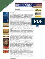 Diário dos Açores - Falta de sensibilidade - Alberto Peixoto